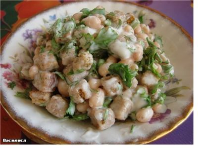 салат с кириешками рецепт с фото очень вкусный
