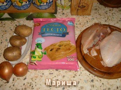 Куриный пай рецепт с фото
