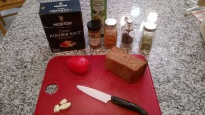 Сухарики с чесноком и томатным соусом в домашних условиях - рецепт пошаговый с фото