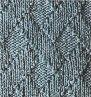 узоры для шарфов спицами.