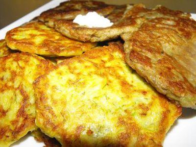 рецепт оладьи из баклажан