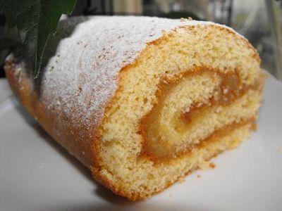 рецепт бисквитного коржа для рулета с медом