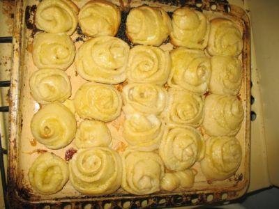 Американские обеденные булочки в духовке - рецепт пошаговый с фото