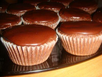 медово-шоколадные маффины (от leah  )