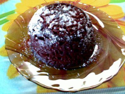Минутный шоколадный торт в кружке