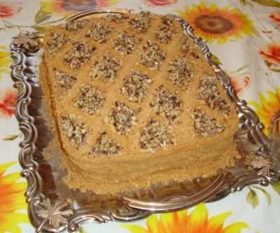 рецепты простых тортов с фото