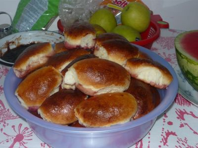 сливой Пирожки рецепт со