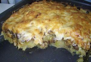 рецепт куриного филе в духовке с тертым картофелем