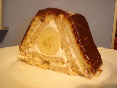 Торт из печенья творога банана рецепт