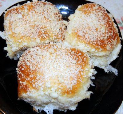 булочки посыпушки сладкие рецепт