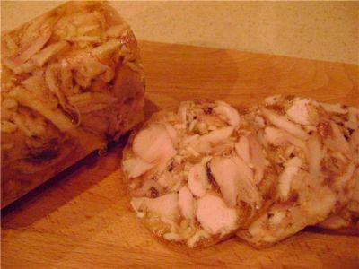 курицы Домашний сальтисон из