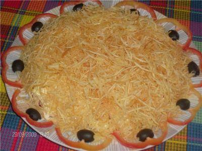 салат рецепт блондинка с фото
