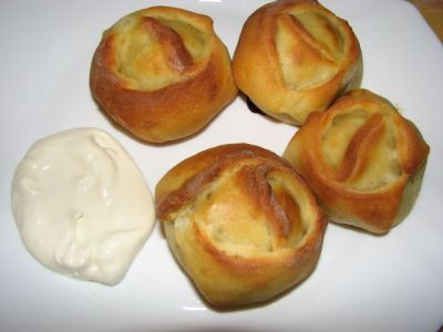 замороженные манты в духовке рецепт