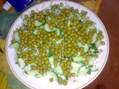 Салат из печени трески салаты из рыбы