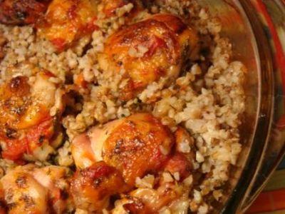 Гречка с курицей рецепты