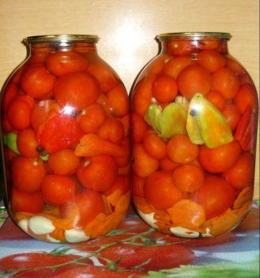 Консервирование помидоров с лимонной кислотой