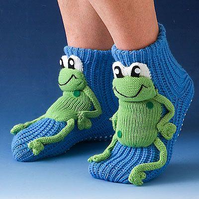 Оригинальные носочки вязать