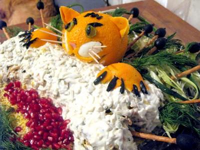русская кухня рецепты салат #13