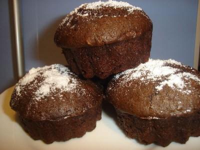 Постные шоколадные маффины рецепт с фото