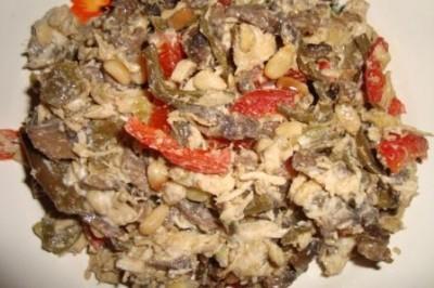 рецепт восточная сказка салат