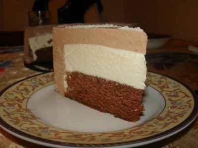 Как сделать домашнее суфле на торт