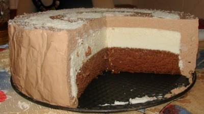 Сметанный торт без выпечки торт с