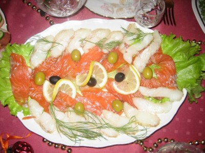 белые росы салат рецепт с фото