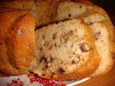 Рецепт кексов с орехами