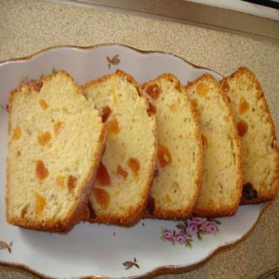 Кекс абрикосово-миндальный (для микроволновой печи)