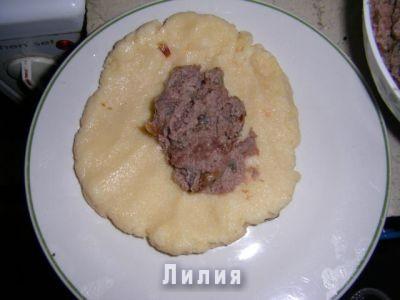 Зразы манные с мясом рецепт