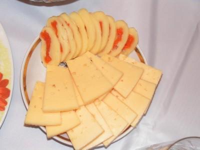 Сырная закуска с курагой : Закуски и бутерброды