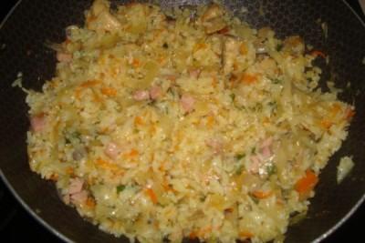 Блюда из риса без мяса рецепты