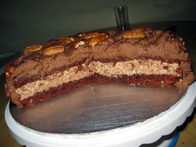 Торт виски с грецким орехом торты