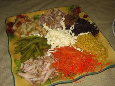 Рецепт салата карусель
