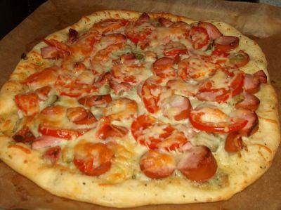 прмстой рецепт пиццы