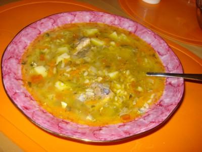 суп из консервы сайры рецепт с фото без риса