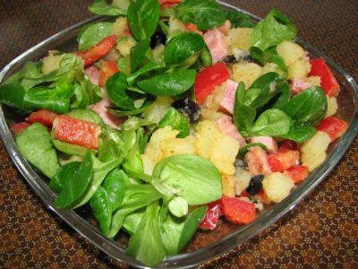 салаты к рыбе рецепты с фото