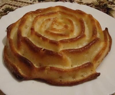 Пирог в силиконовой форме роза рецепты