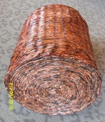 схему плетения лаптей?