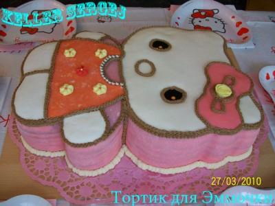 Торт на день рождения дочери своими руками