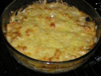 Рецепт Жульен из морепродуктов.