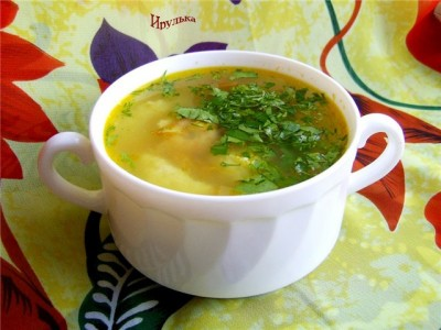 суп из креветок