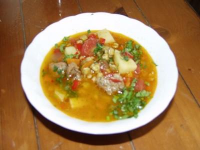 Суп машевый с фото