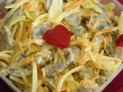 Салат с пупками рецепты
