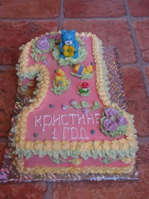 Воздушный клубничный торт фото 3
