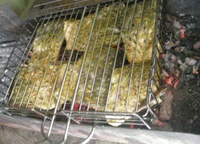 Курица для шашлыка маринад из соевого соуса