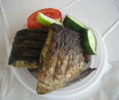 Шашлык из карпа рецепт с фото
