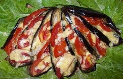 павлиний хвост из баклажан фото рецепт