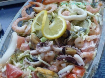 салат дары моря рецепт