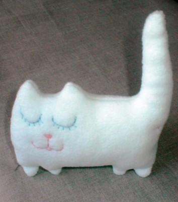 модульное оригами коты.